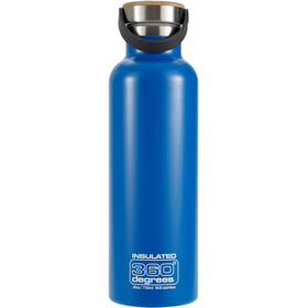 360° degrees Vacuum Insulated Drink Bottle 750ml, ocean blue